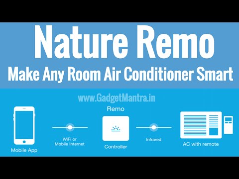 Nature Remo - Make Any Room Air Conditioner Smart   Gadget Mantra