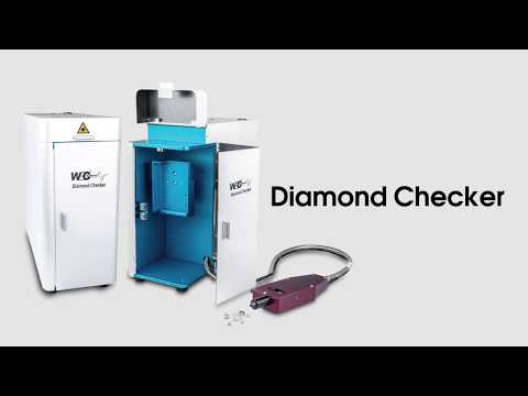 HPHT CVD Detector Diamond Checker - WEC Raman