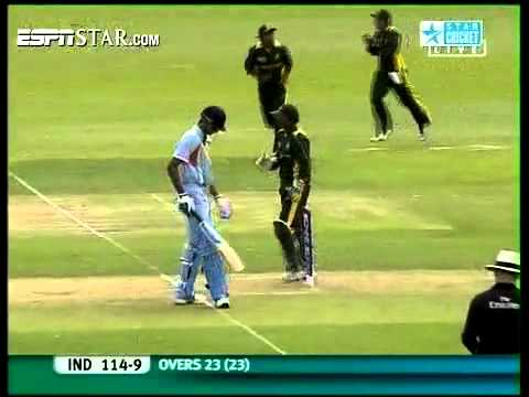 Pakistan vs India  U19 WC Quarter Final