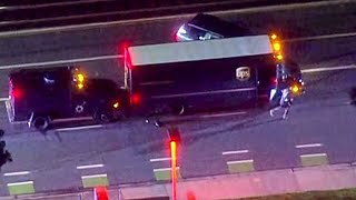Armed Suspect Who Hijacked UPS Delivery Truck Shot, Killed in San Jose