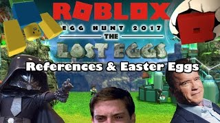Roblox Easter Egg Hunt 2017 - References & Easter Eggs!