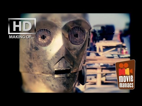 Star Wars | C3PO on set interview George Lucas Anthony Daniels