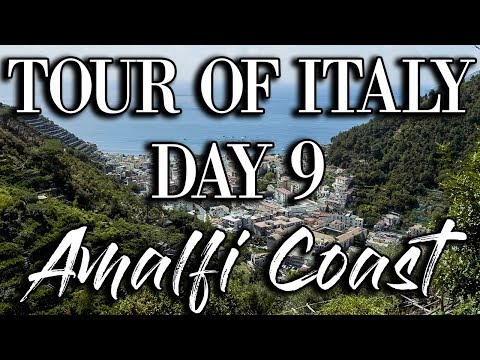 Amalfi Coast Tour of Italy Daily VLOG 9  |  Delicious Vegan Food  |  4K GH5