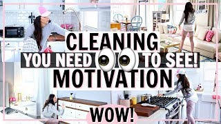 ALL DAY CLEAN WITH ME! CLEANING MOTIVATION FOR 2019! SPEED CLEAN WITH ME | Alexandra Beuter
