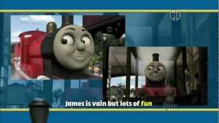 THOMAS AND FRIENDS KARAOKE SONG 1080 HD 3D