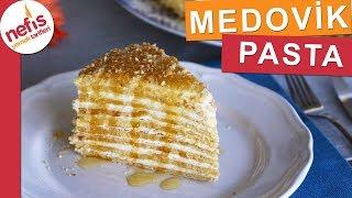 Meşhur MEDOVİK PASTASI - Ballı Rus Pastası