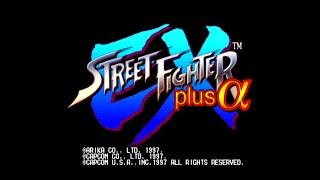 Street Fighter EX plus @ [PS1] Unlock All Characters & Bonus Game