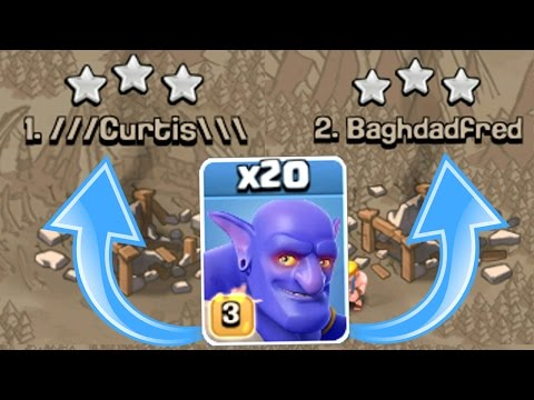 Clash Of Clans - 6 STAR ATTACK STRATEGY TOP 2 PLAYERS!! - Most OP Strategy In CoC 2016!