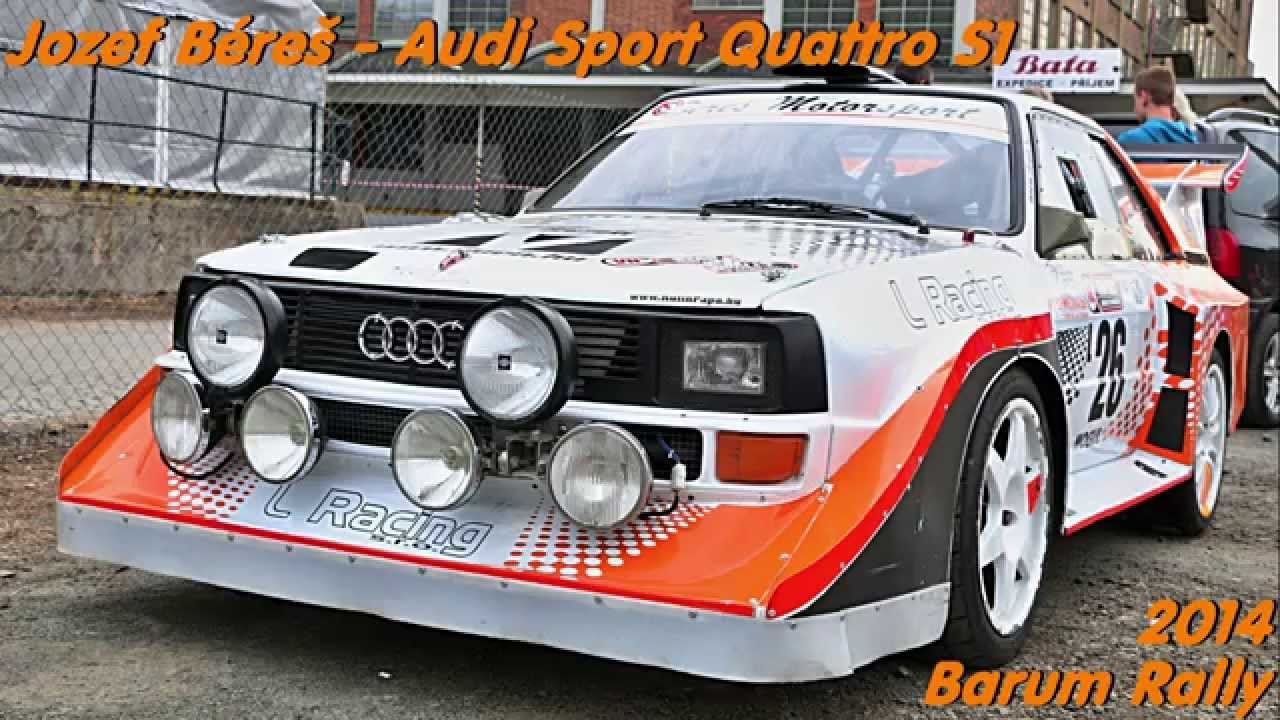 audi sport quattro s1 jozef b re barum rally zl n. Black Bedroom Furniture Sets. Home Design Ideas