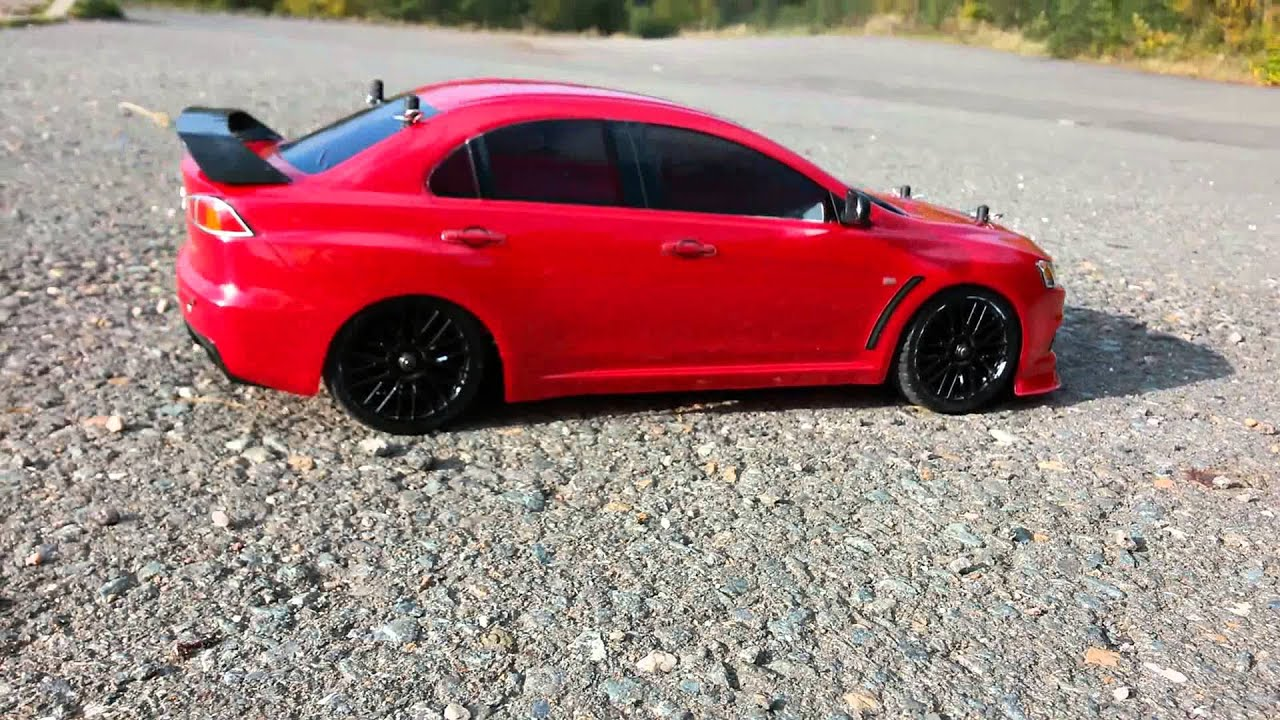 Mitsubishi Evo X Rc Car Youtube