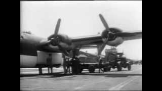 B-24 Liberators Attack German U-Boats
