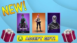 NEW Gifting System in Fortnite Battle Royale Update! How to Gift in FORTNITE!