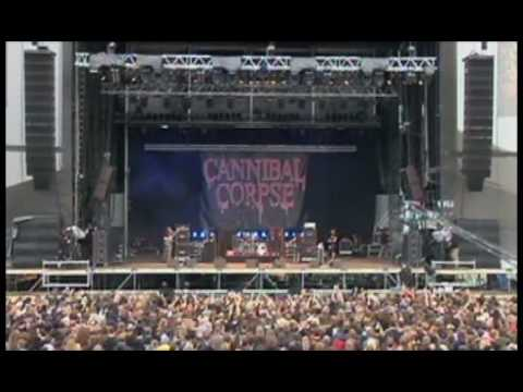 CANNIBAL CORPSE  - Unleashing The Bloodthirsty  (Live)