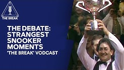 The Debate: Strangest Snooker Moments | Snooker Vodcast | Eurosport