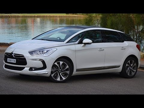 citroen ds5 diesel review youtube