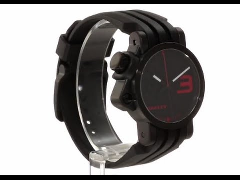hqdefault oakley men's strap edition watch youtube oakley fuse box review at reclaimingppi.co
