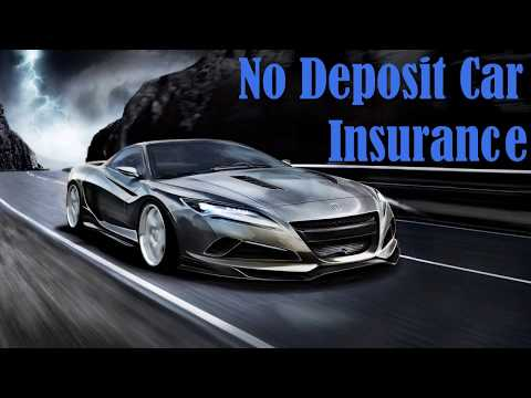Cheap Monthly Car Insurance Quotes With No Deposit Online