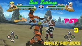 Naruto Shippuden ultimate Ninja heroes 3 CSO PSP Download