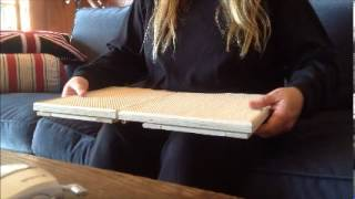Stay Put Tray Folding Lap Tray