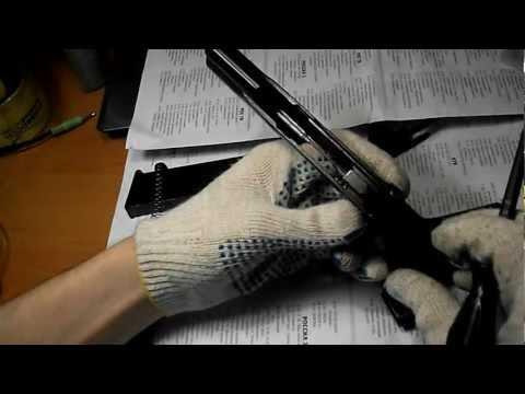 Пневматический Пистолет Макарова Мр 654К 32 Переделка Из Боевого Пм