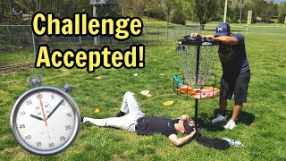 I take on the Simon Lizotte 10 foot challenge