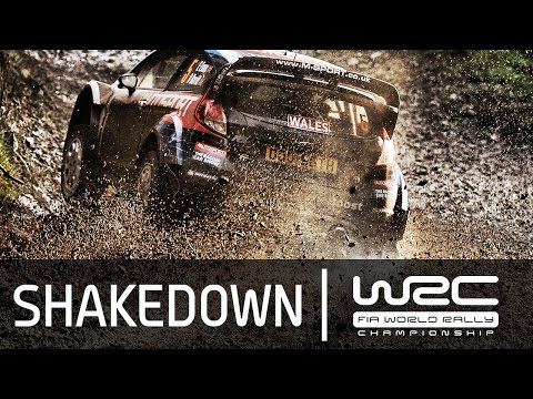 WRC News - Wales Rally GB 2015: SHAKEDOWN