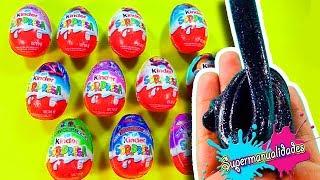 NO elijas el huevo kinder sorpresa incorrecto para hacer Slime / Supermanualidades