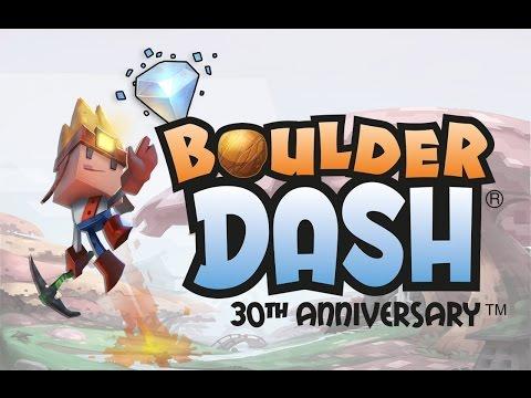 Boulder Dash 30th Anniversary Gameplay Trailer