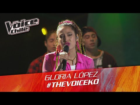 The Voice Chile | Gloria López - Rude