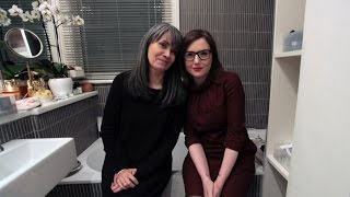 Sali Hughes: In The Bathroom with Morag Ross Part One