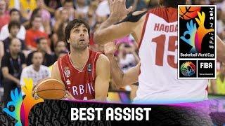 Iran v Serbia - Best Assist - 2014 FIBA Basketball World Cup