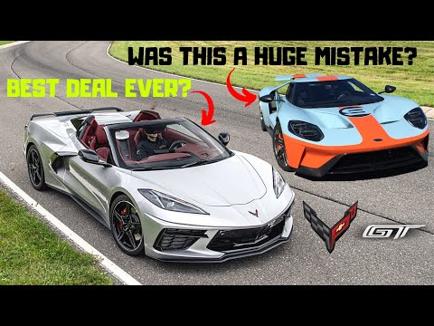 Ford GT owner REACTS to 2020 C8 Corvette - was buying the GT a MISTAKE???