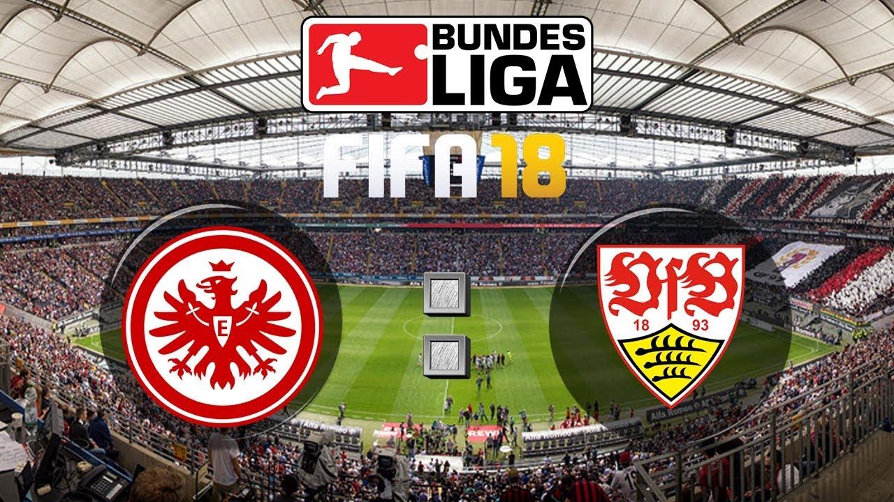 Fifa 18 Bundesliga Eintracht Frankfurt Vfb Stuttgart Gameplay