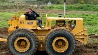 Repeat youtube video Caterpillar tractor DW6 with 60 scraper 3