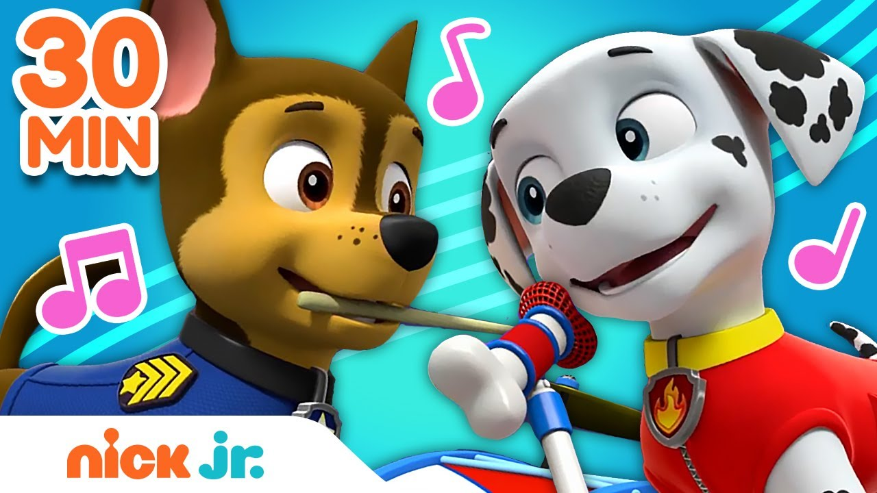Download PAW Patrol 30 Minute Sing Along Song Compilation! 🎵   Nick Jr.