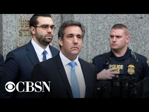 Michael Cohen sentenced to 3 years in federal prison