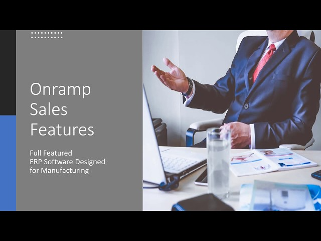 Onramp Solutions - Sales and CRM Features