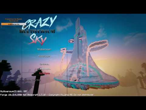 Скачать карту Sky Survival 2 для майнкрафт - Карта для