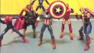 The Avengers Stop Motion (AvD-One Shall Stand) Part 1