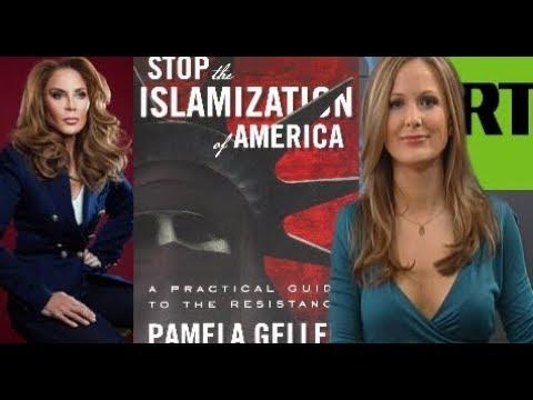 Activista contraria a la islamización versus periodista progresista de RT