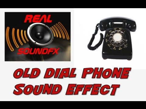 Old dial rotary phone ringing sound effect - 70's 80's realsoundFX