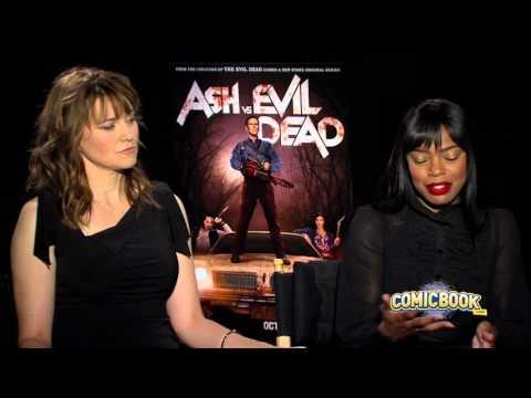 Lucy Lawless & Jill Marie Jones Talk Ash Vs. Evil Dead