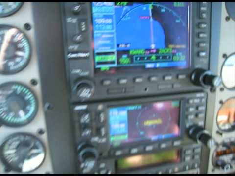 IFR flight in Bonanza A36 to Santa Barbara (KSBA)
