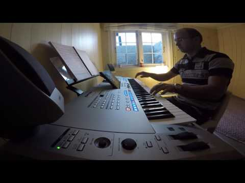 A Whiter Shade Of Pale  - cover on Yamaha Tyros 5