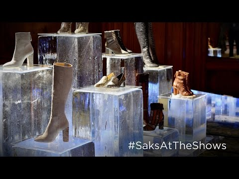 Pierre Hardy, Alexandre Birman Fall/Winter 2016 - #SaksAtTheShows