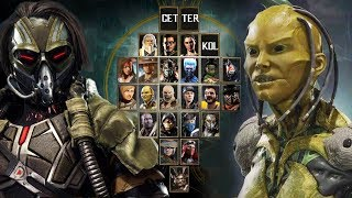 MORTAL KOMBAT 11 - FULL CONFIRMED ROSTER SO FAR (25 CHARACTERS UPDATED)