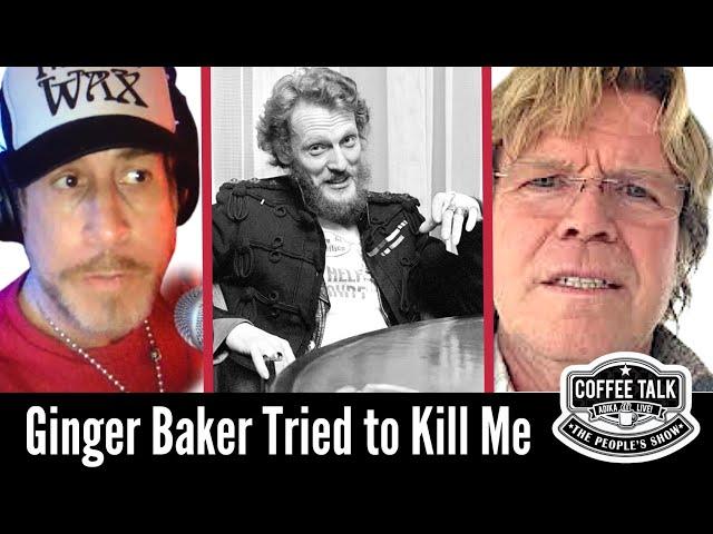 Ginger Baker Almost Killed Peter Noone of Herman's Hermits!