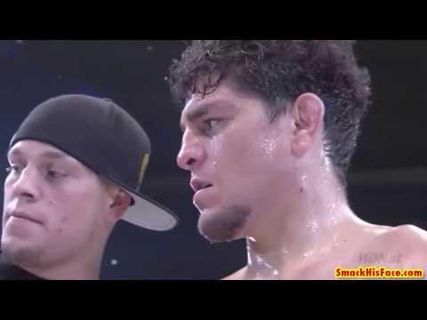 The Time when Nick Diaz showed Japan the Stockton Slap