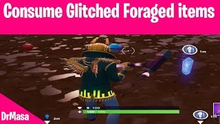 Fortnite | Consume Glitched Foraged items | Junk Storm Challenges