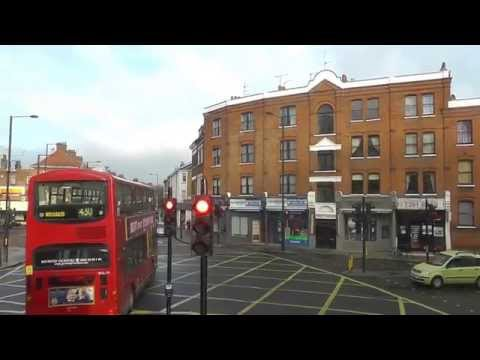 NO. 74 BUS ROUTE FROM PUTNEY BRIDGE ROAD TO BAKER STR STN  -  PART 1